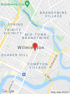 a map of the Wilmington Delaware office of the Division of Human Relations